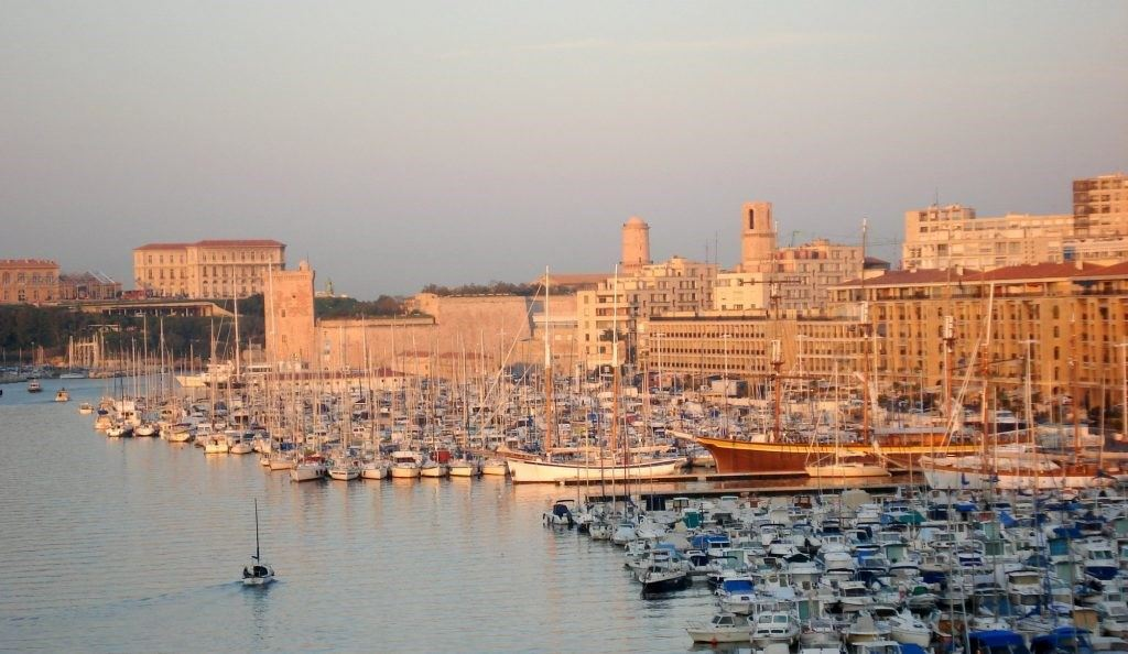 Marseille Vieux Port at sunrise1