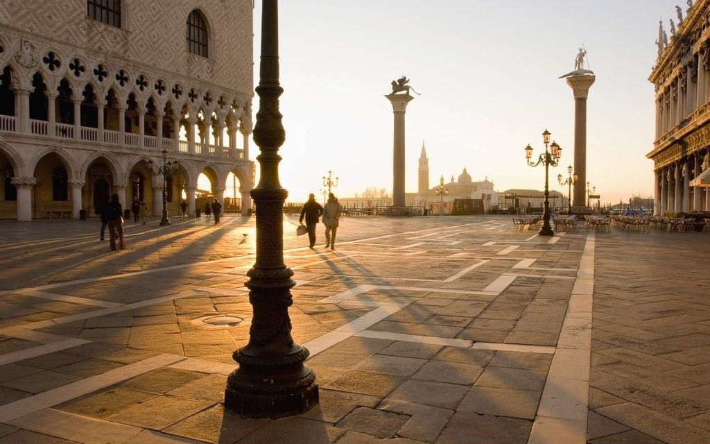 Sunset on Piazza San Marco