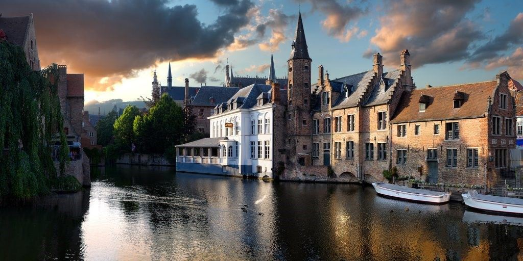 Brugge-Sunset