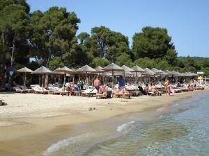 Plaja Koukounaries, Skiathos, Grecia