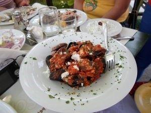Porţie de scoici la tavernaBig Bad Wolf, Skiathos, Grecia