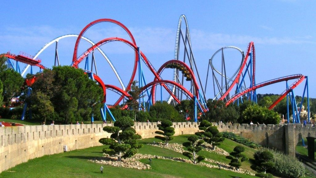 roller-coaster-in-portaventura