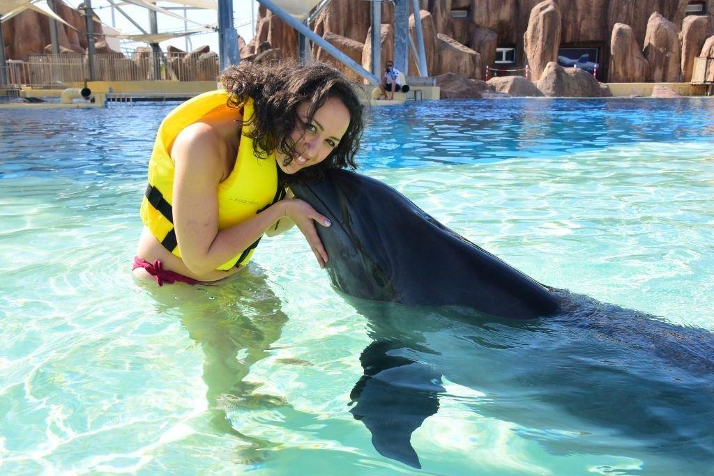 înotul cu delfinii în Aquapark-ul Land of Legends din Antalya2