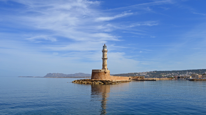 Farul din Chania - atractii turistice Grecia