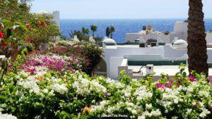 Vedere de la hotelul Four Seasons