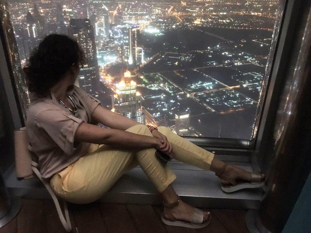 Vacanţă în Dubai, ANCAPAVEL.RO Vedere din Burj Khalifa