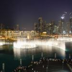Fântânile arteziene - Dubai fountains