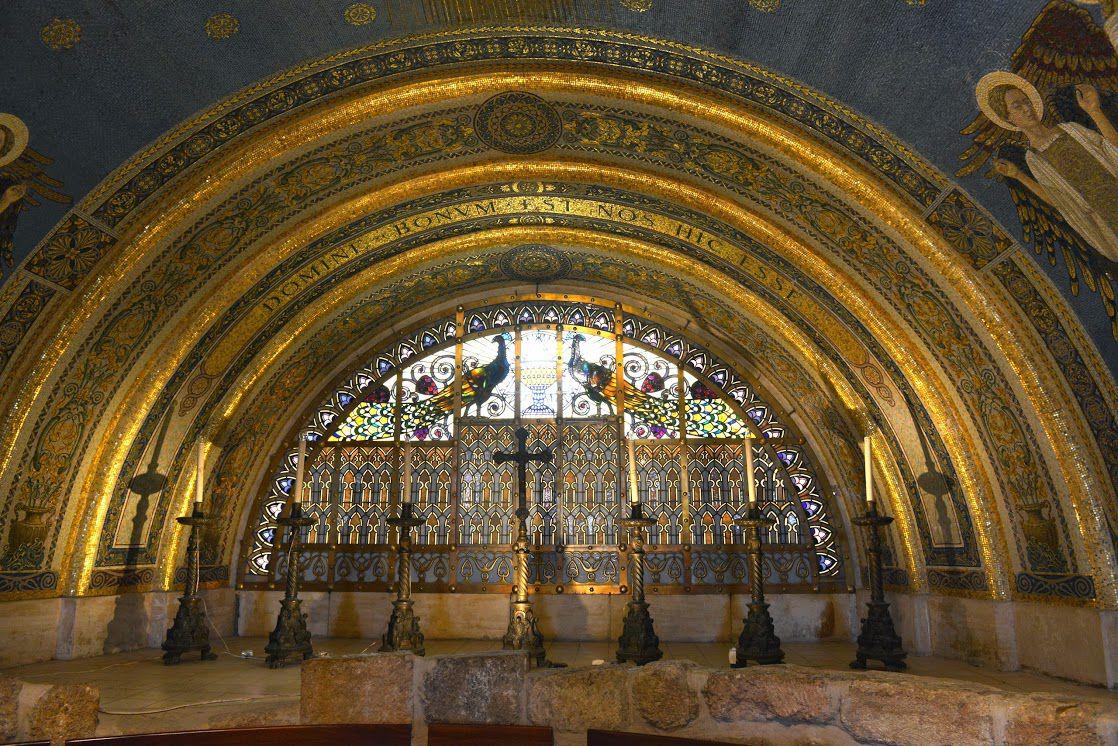 "Biserica ""Schimbarea la Fata"", Muntele Tabor, circuit Israel"
