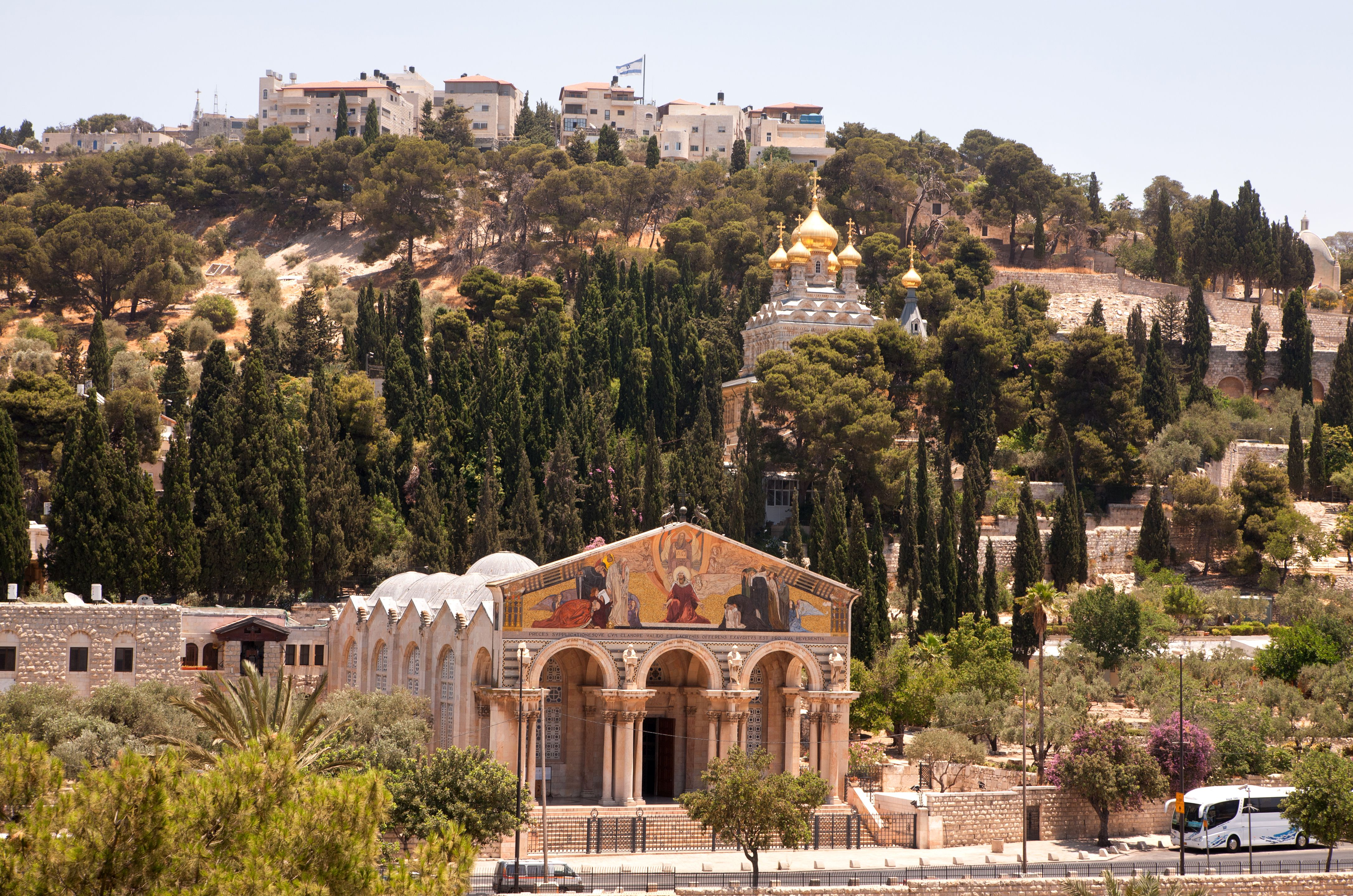 Biserica de pe Muntele Maslinilor, Ierusalim, pelerinaj Israel