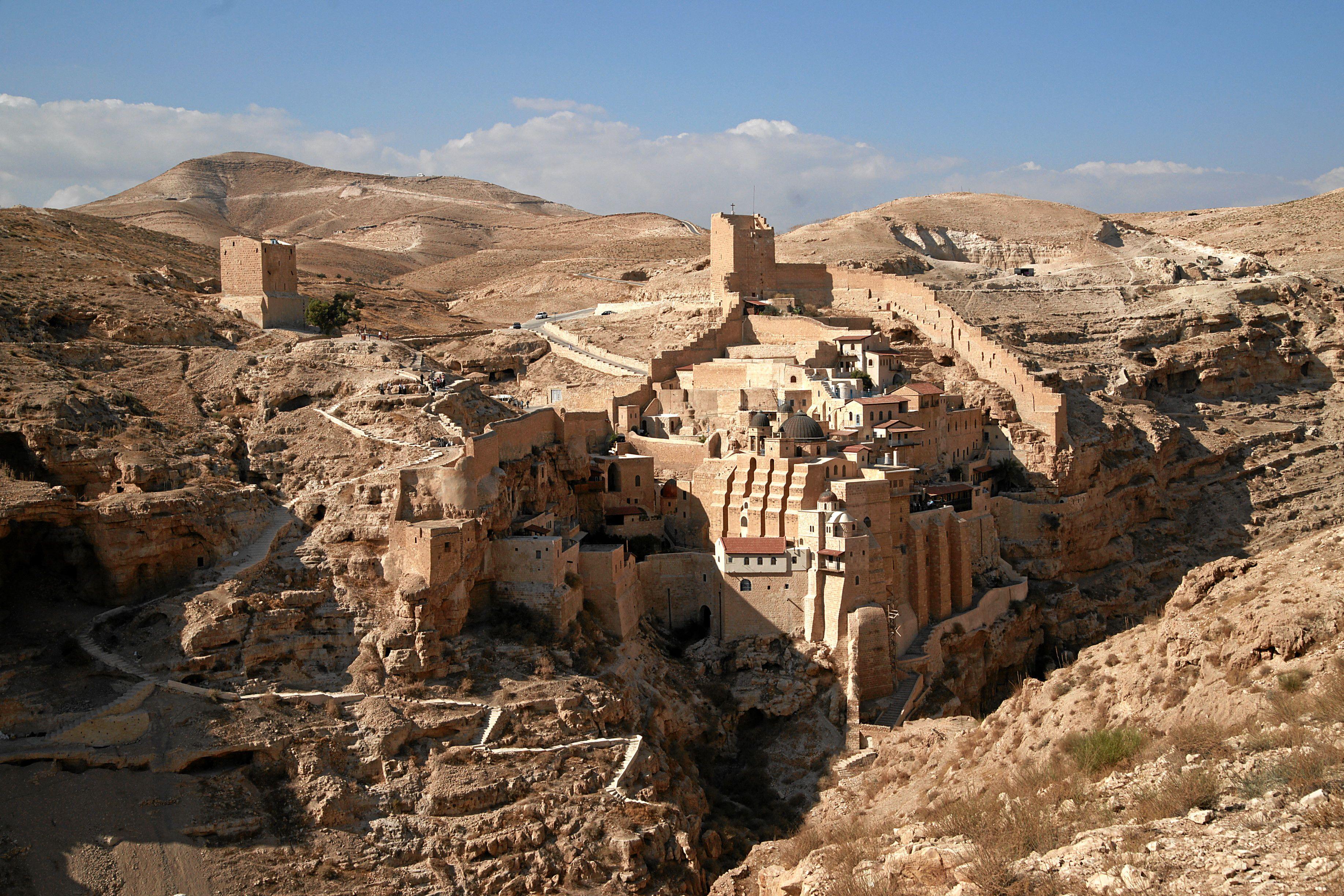 Manastirea Sf. Sava, pelerinaj Israel