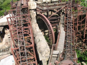 roller coaster-ul Indiana Jones, Adventureland