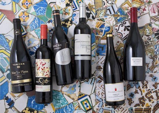 Vinuri din Barcelona si din zona Catalunya, Spania 2019