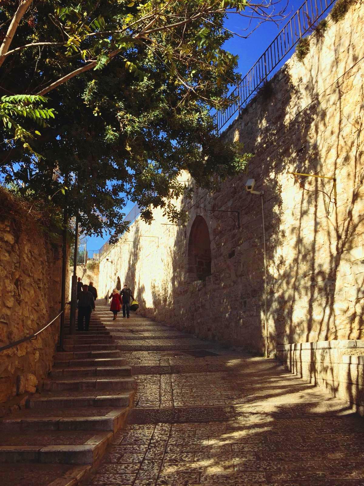 via Dolorosa, pelerinaj Israel