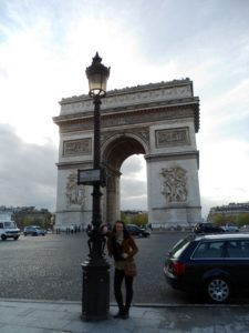 Obiective turistice din Paris - Arcul de Triumf