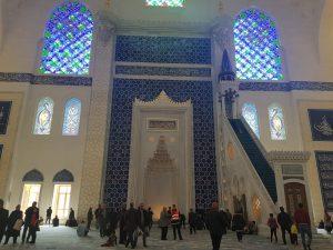 Moscheea Camlica, Istanbul - Vacanţele turiştilor mei