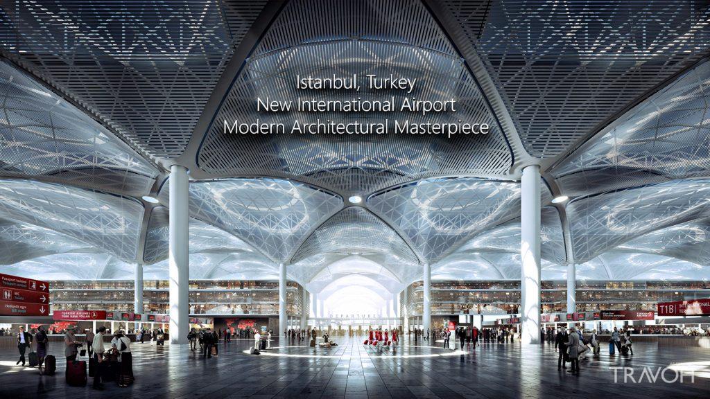 Noul Aeroport din Istanbul, foto @travoh.com