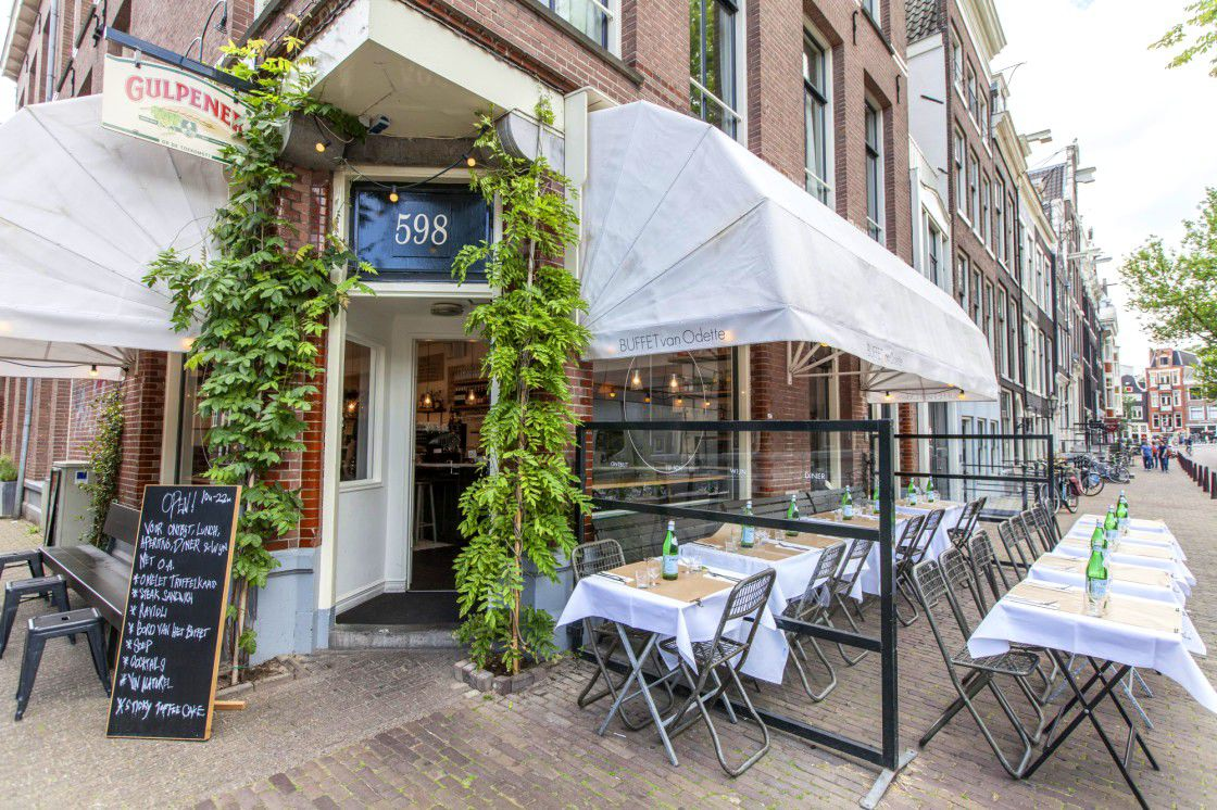 Buffete van Odette - restaurante recomandate din Amsterdam
