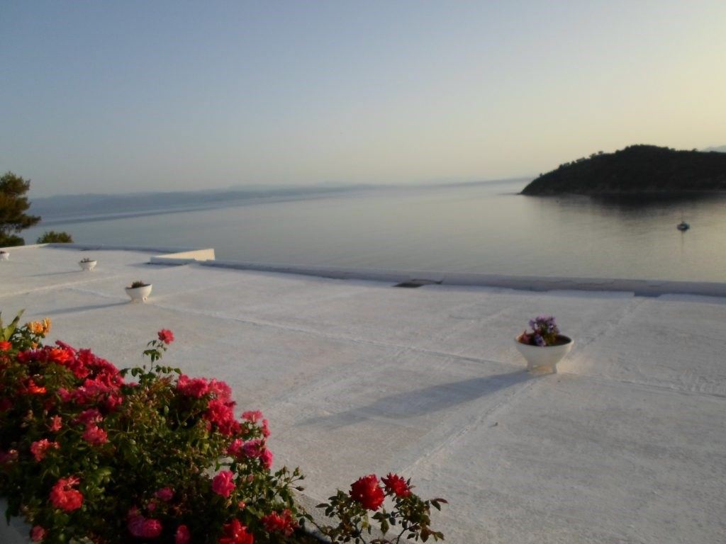 vacanță în Skiathos, Grecia