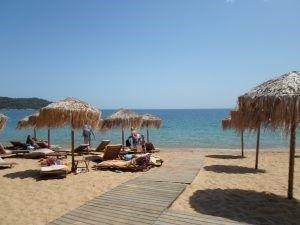 Plaja Agia Paraskevi, Skiathos, Grecia