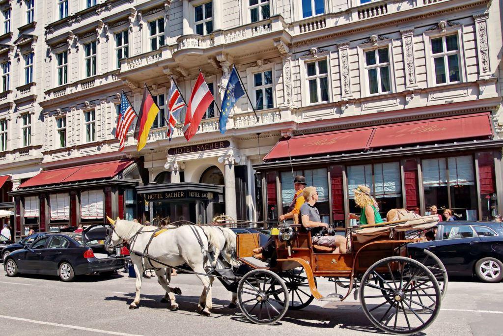 Sacher Hotel Viena