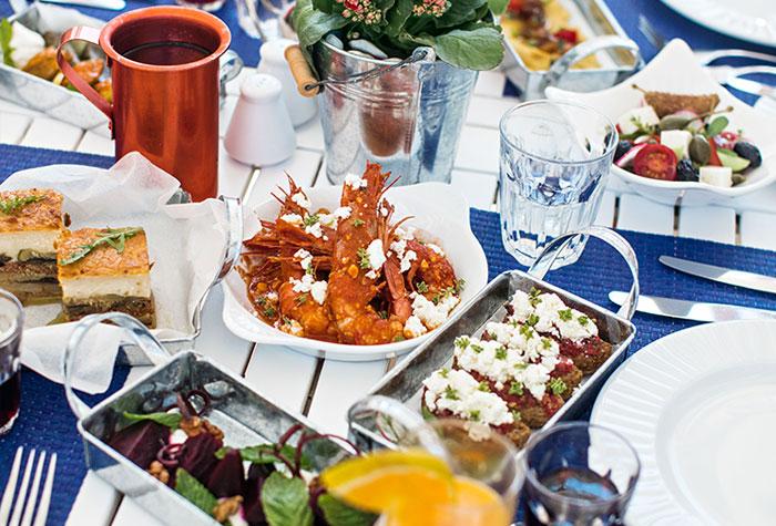 Tavernaki, Greek a la carte Restaurant, foto @thewhitepalace.com