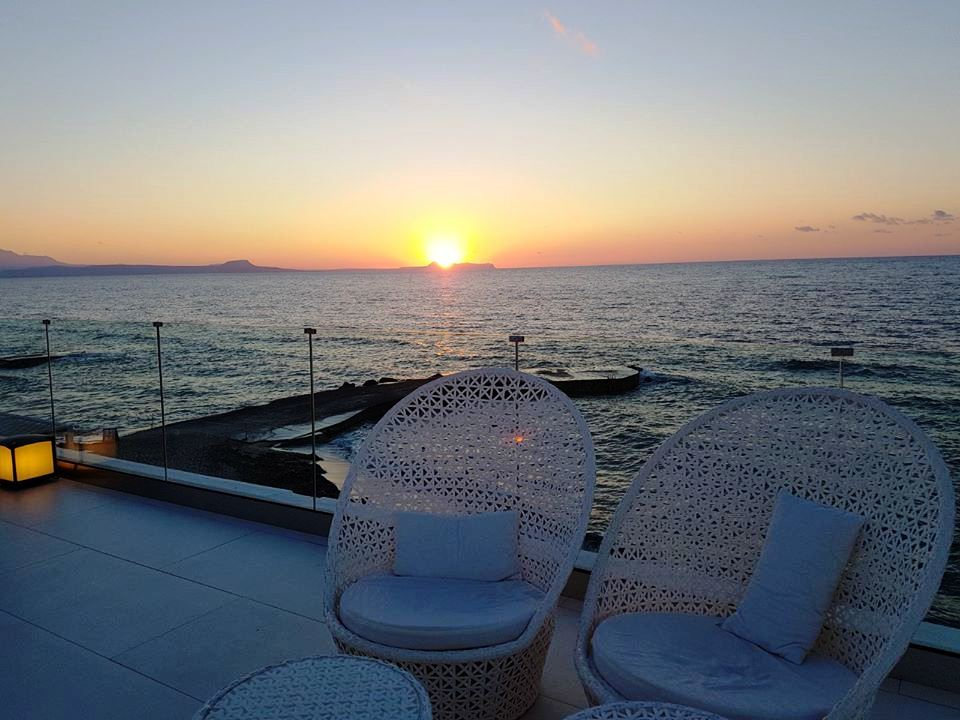 Terasa Sunset Lounge Grecotel White Palace, Creta, ANCAPAVEL.RO
