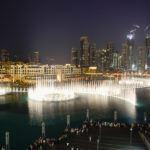 Fântânile arteziene - Dubai fountains
