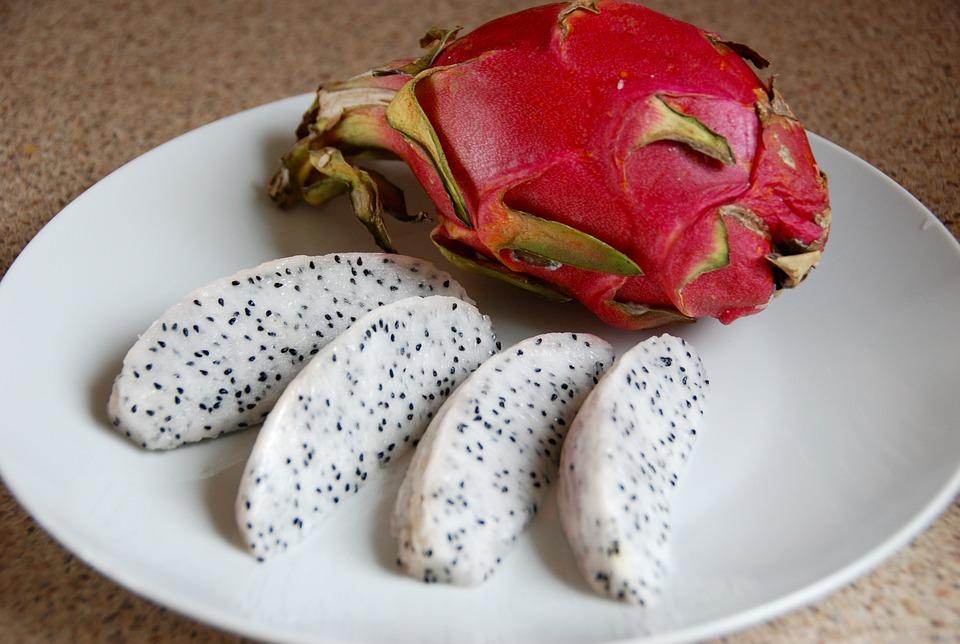 Pitaya, fructul dragon, Punta Cana, Republica Dominicană