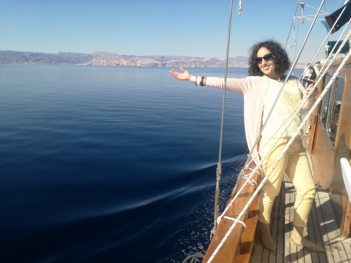 vacană în Aqaba, Iordania