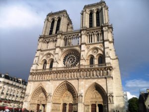 Obiective turistice din Paris - Catedrala Notre Dame