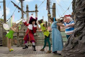 vasul lui Jack Sparrow din Pirații din Caraibe, Adventureland