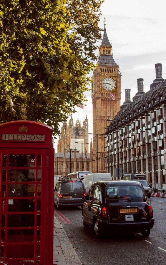 Vacanta la Londra foto @pinterest.com