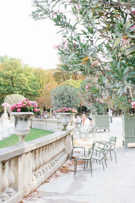 Jardin des Tuileries, Paris foto @pinterest.com