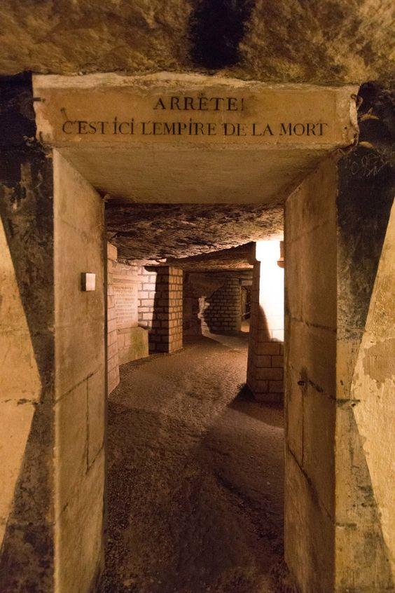 Catacombele, Paris foto@pinterest.com