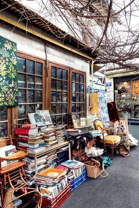 Piața de vechituri Saint Ouen, foto@pinterest.com