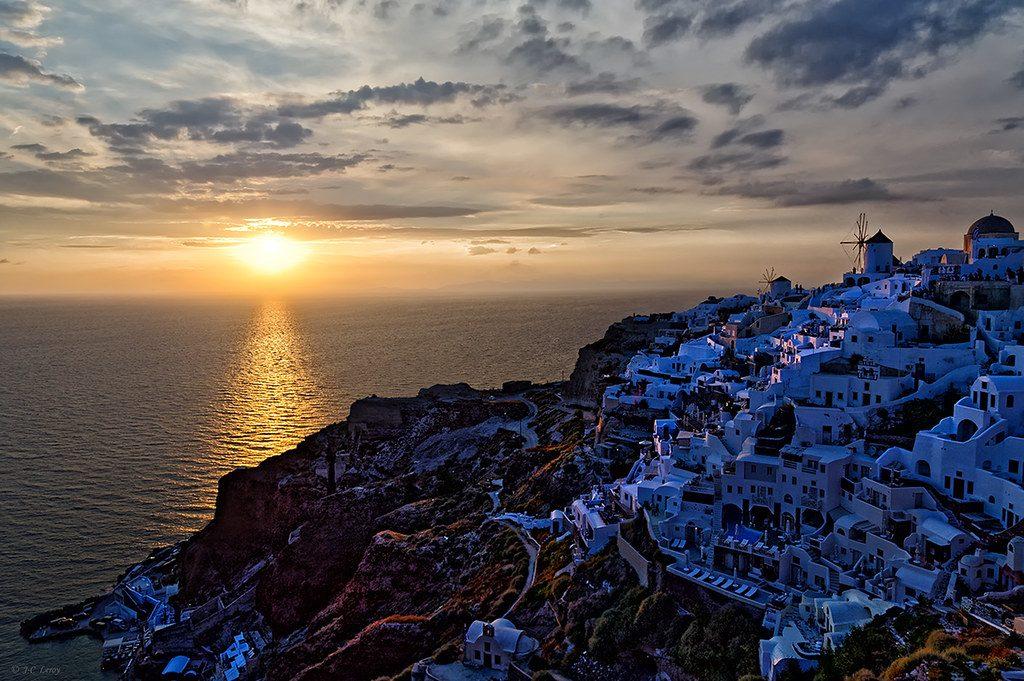 Vacanță în Santorini, Grecia