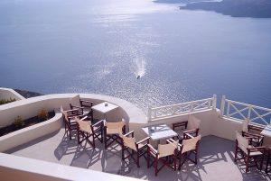 luna de miere în Santorini