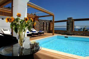 Vilă cu piscină privată - vacanță în Creta