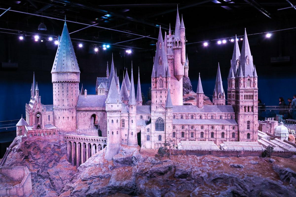 Castelul Hogwarts - studiourile Harry Potter Londra