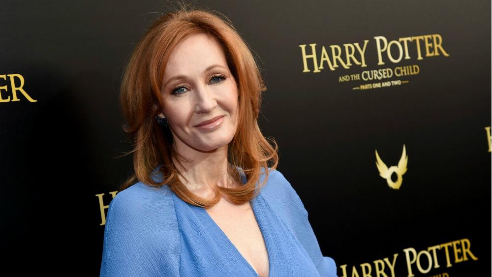 """JK Rowling - autoarea cărţilor """"Harry Potter"""""""