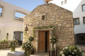 Capelă pentru nunţi - vacanță în Grecia