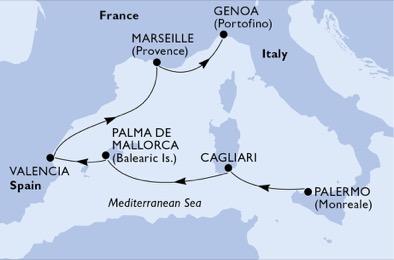itinerariu croazieră