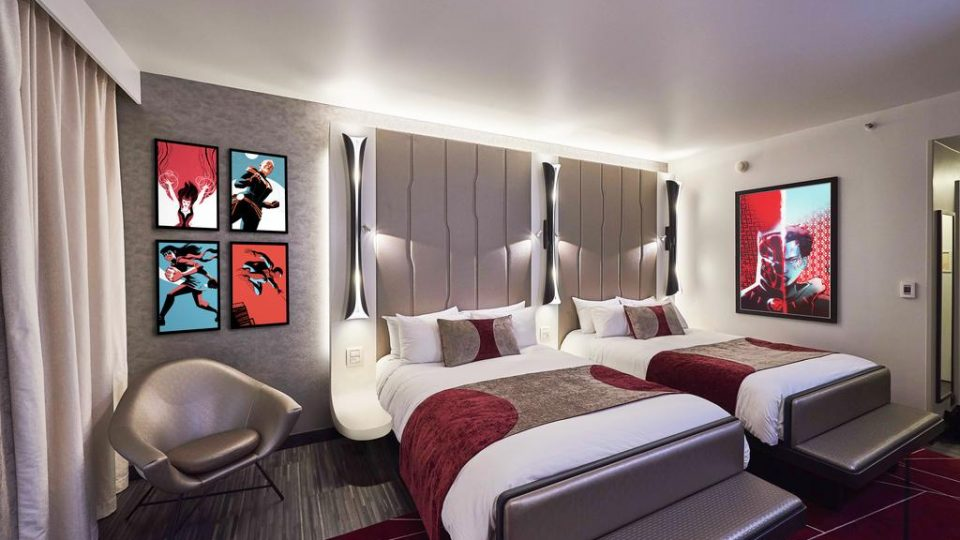 Disney's Hotel New York - The Art of Marvel 4*, Disneyland Paris