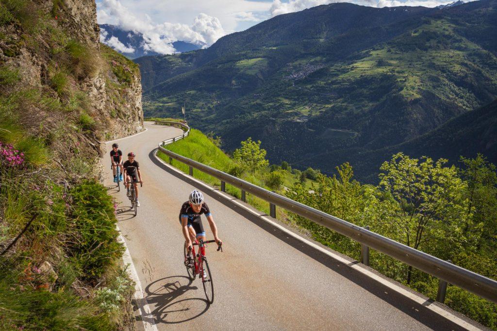 traseu bicicletă - Elveția @valais.ch
