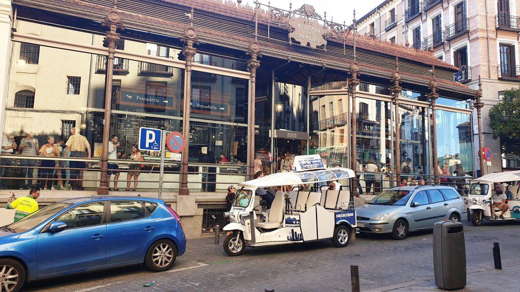 Atracţii turistice din Madrid: Piaţa San Miguel, ANCAPAVEL.RO