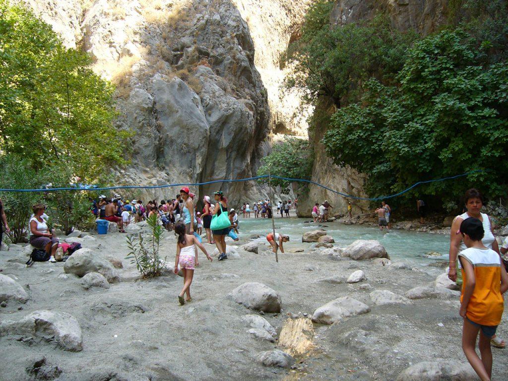 vacanță în Fethiye - canionul Saklikent