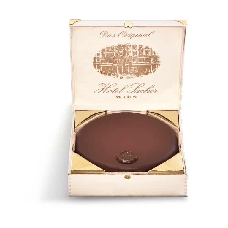 mini sacher torte din Viena