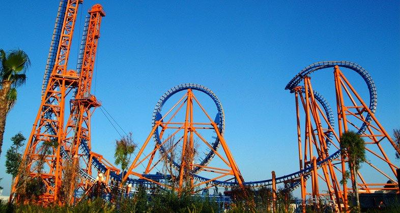 Parcul de distracţii Warner Theme Park, foto: @parquewarner.com
