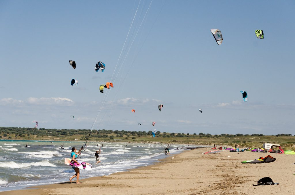 vacanță la kiteboarding în Gokceada