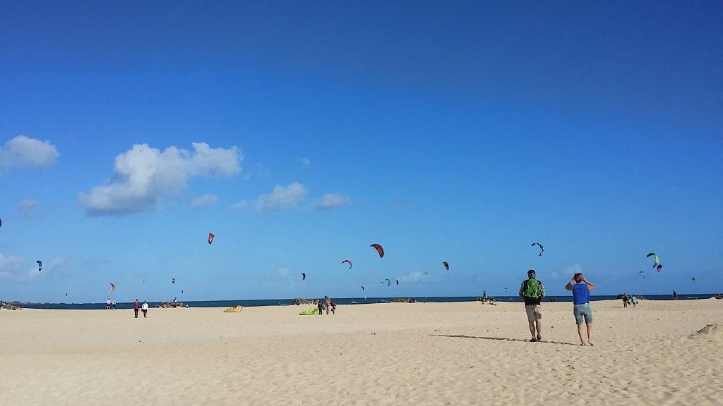 vacanță la kite surf în Fuerteventura